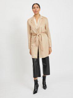 Béžový lehký kabát VILA