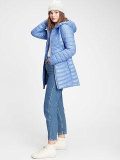 Modrý dámský kabát GAP