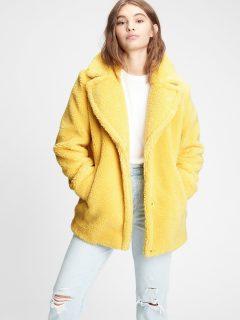 Žlutý dámský kabát GAP