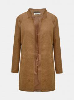 Hnědý kabát ONLY Soho