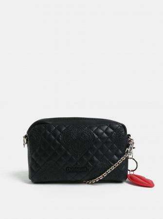 9e1d3c1035 Černá dámská koženková ledvinka kabelka Desigual Claudia - Dámské ...