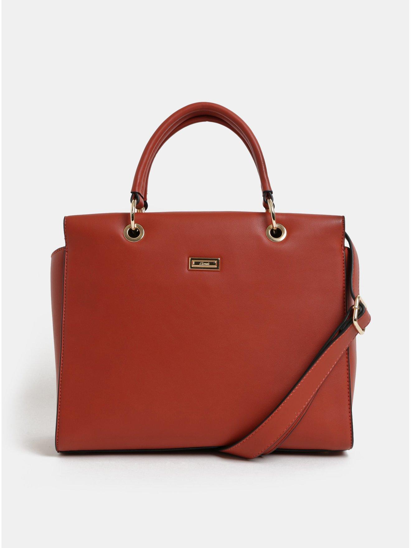 dd0e4b27bf Cíhlová kabelka s detaily ve zlaté barvě Gionni Cleo Top - Dámské kabelky