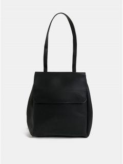 Černá kabelka/batoh s odnímatelnými popruhy Claudia Canova Simone