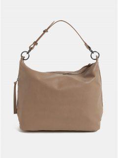 Béžová velká kabelka se střapci Dorothy Perkins