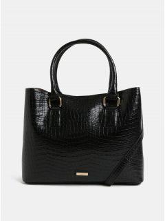 Černá kabelka s krokodýlím vzorem ALDO Frenarien