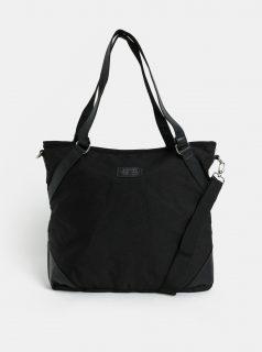 Černá kabelka s kapsou na notebook Meatfly Insanity