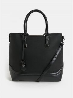 Černá kabelka s odnímatelným popruhem Bessie London