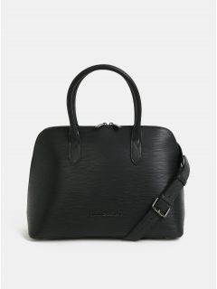Černá kožená kabelka Smith & Canova Kiri