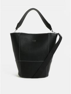 Černá kabelka Pieces Brigitte