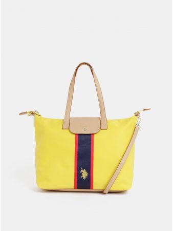 f1391239ec Žlutá kabelka U.S. Polo Assn. - Dámské kabelky