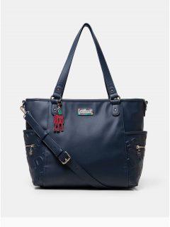 Tmavě modrá kabelka Desigual Colorama Maxton