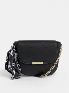 Černá crossbody kabelka s šátkem ALDO