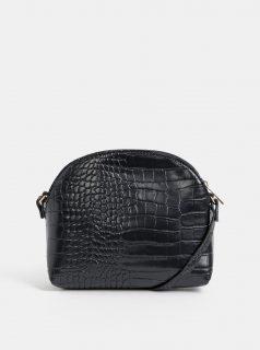 Černá crossbody kabelka s krokodýlím vzorem Haily´s Camilla