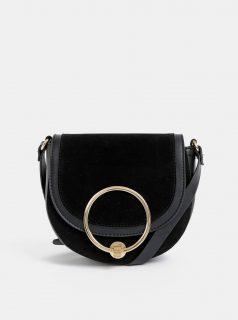 Černá crossbody kabelka v semišové úpravě Haily´s Ciara