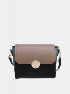 Hnědo-černá kabelka Bessie London