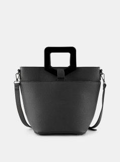Černá kabelka Pieces Mille