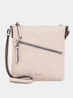 Světle růžová crossbody kabelka Tamaris