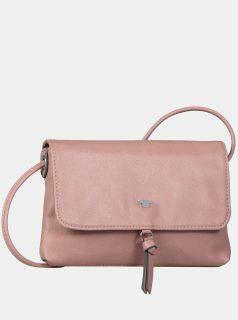 Růžová crossbody kabelka Tom Tailor Luna