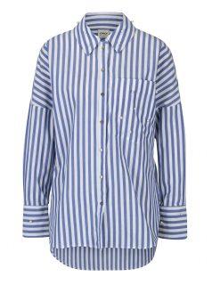 Bílo-modrá pruhovaná košile ONLY Melrose