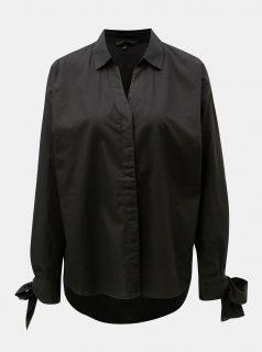 Černá oversize košile VERO MODA Flow