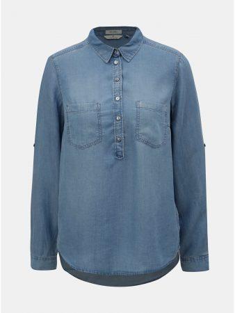 9b26f29c7c3 Modrá dámská džínová košile Tom Tailor - Dámské košile