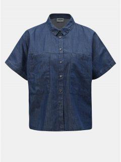 Modrá džínová volná košile Noisy May Lola