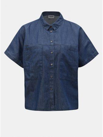 8d0e8581db3 Modrá džínová volná košile Noisy May Lola - Dámské košile