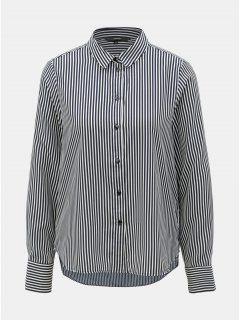 Bílo-modrá pruhovaná košile VERO MODA Nicky