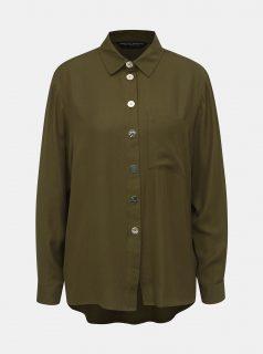Khaki košile s kapsou Dorothy Perkins