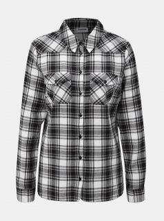 Bílo-černá kostkovaná košile Noisy May Erik