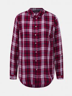 Červená kostkovaná košile Dorothy Perkins
