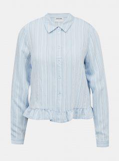 Světle modrá košile AWARE by VERO MODA Kata