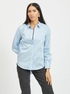 Světle modrá košile VILA Gima