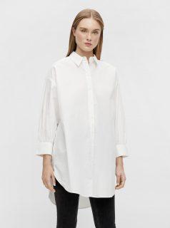 Bílá dlouhá košile .OBJECT Mahin