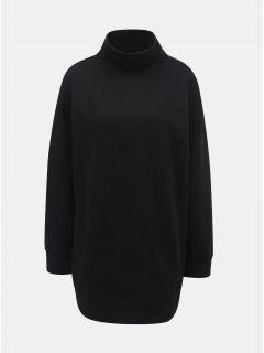 Černá dlouhá mikina s rolákem Jacqueline de Yong