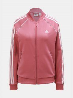 Růžová dámská mikina adidas Originals