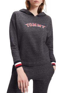 Tommy Hilfiger šedá mikina Batwing Hoody LS