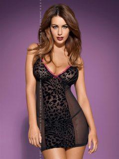 Košilka Tigra chemise – Obsessive černá