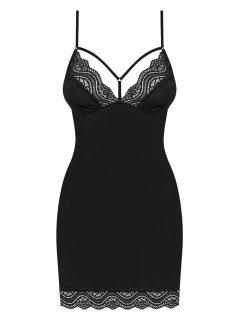 Svůdná košilka Diyosa chemise – Obsessive černá