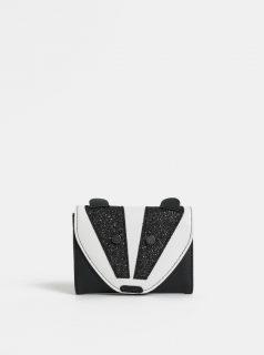 Bílo-černá peněženka ve tvaru jezevce s třpytivými detaily Cath Kidston