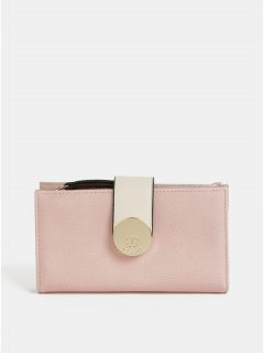 Růžová velká peněženka Bessie London