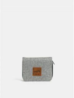 Šedá dámská žíhaná peněženka NUGGET Leticia