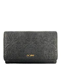 Roxy CRAZY DIAMOND ANTHRACITE dámská značková peněženka – černá