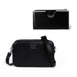 Vuch set kabelky a peněženky Black Elegance