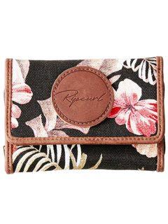 Rip Curl LEILANI BEACH black dámská značková peněženka – hnědá
