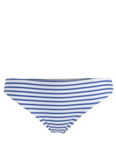 Modro-bíly pruhovaný spodní díl plavek Dorothy Perkins