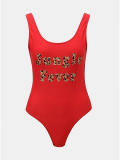 Červené plavky VERO MODA Lea