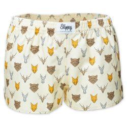 Slippsy světle žluté dámské boxerky Animal