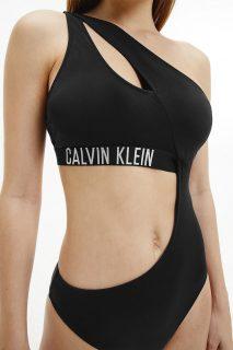 Calvin Klein černé jednodílné plavky Cut Out One Piece-RP