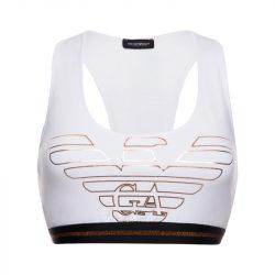 Sportovní podprsenka 164212 9A232 00010 bílá – Emporio Armani bílá